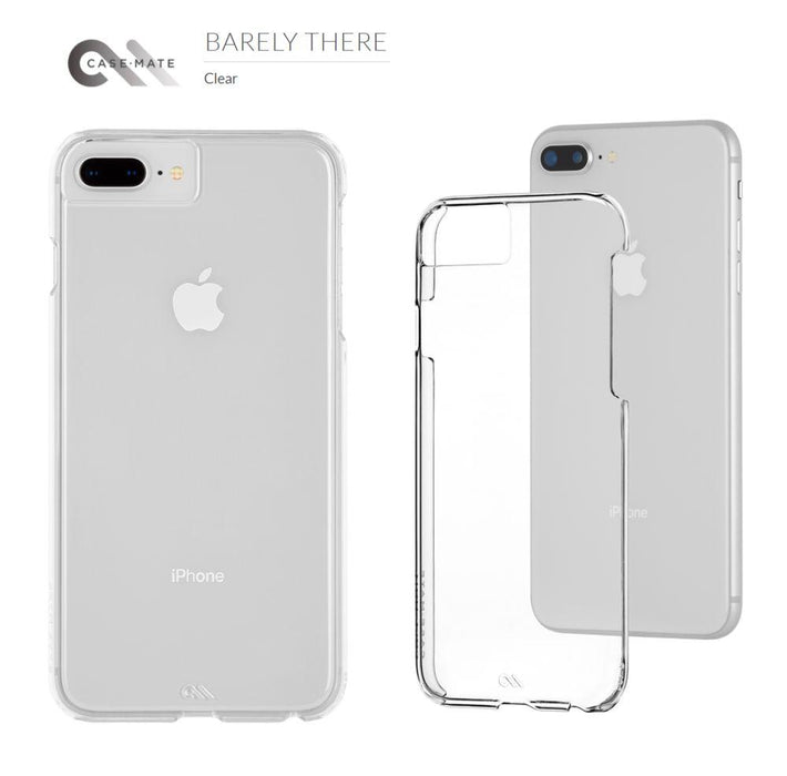 Case-Mate - iPhone 7/8 Plus Barely There Case - Clear