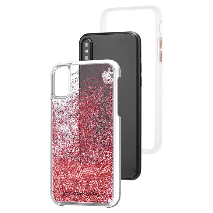 Case-Mate - iPhone X/XS Waterfall - Rose Gold