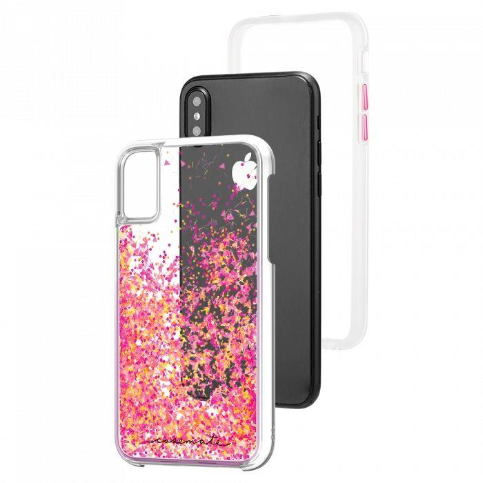 Case-Mate - iPhone X/XS Waterfall - Glow Pink