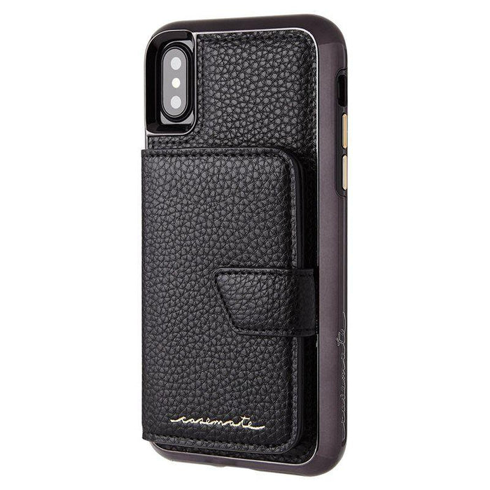 Case-Mate - iPhone X/XS Compact Mirror Case - Black