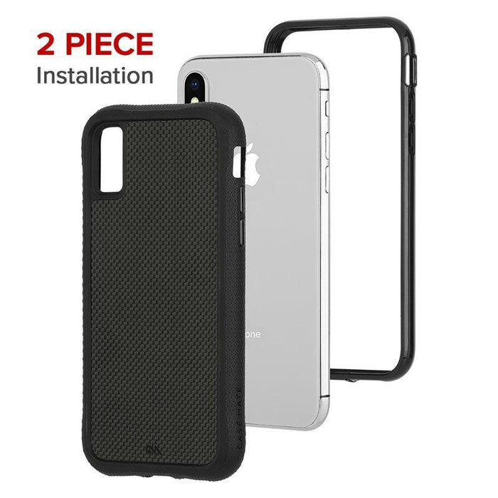 Case-Mate - iPhone X/XS Protection Collection - Carbon Fiber