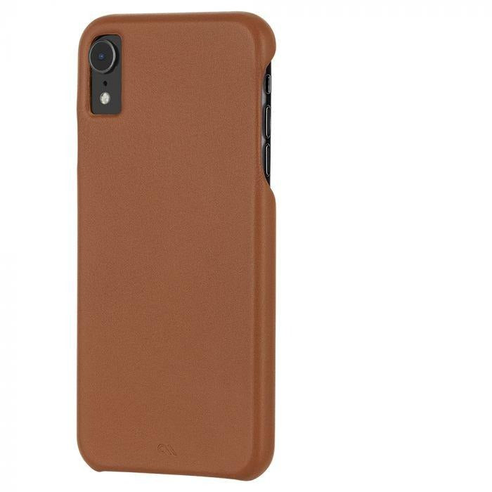 Case-Mate - iPhone XR Barely There Leather - Butterscotch