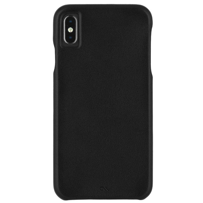 Case-Mate - iPhone XS MAX Barely There Leather - Black