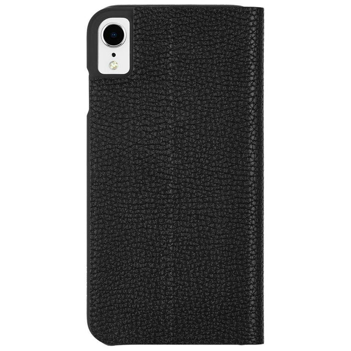 Case-Mate - iPhone XR Barely There Folio - Black