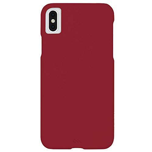 Case-Mate - iPhone XS MAX Barely There - Cardinal