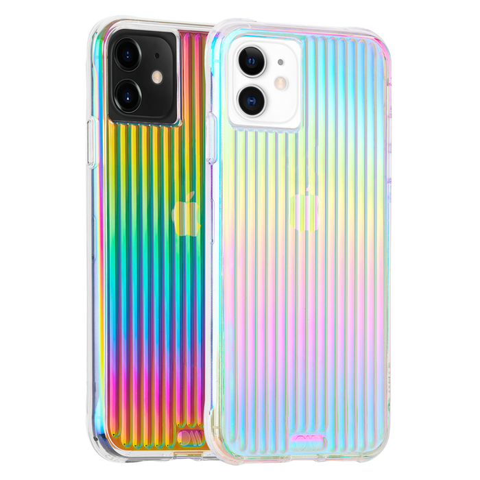Case-Mate  - iPhone 11 Case - Tough Groove - Iridescent