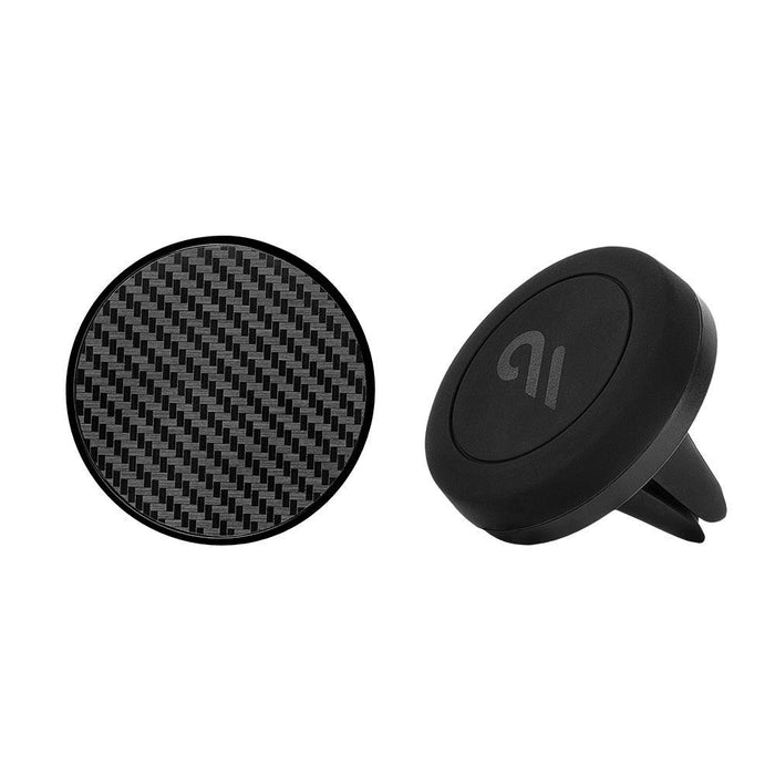 Case-Mate - Car Charms Magnetic Vent Mount Kit - Carbon Fiber