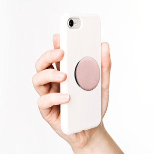 PopSockets - Phone Grip Single Aluminum - Rose Gold