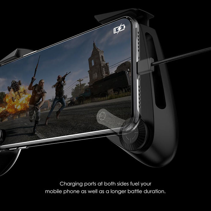 GameSir - F3 Grip Mobile Phone Gaming Controller (Suitable for FPS Fortnite PUBG, No Bluetooth Needed) - Black