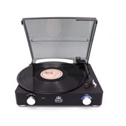 GPO   - Stylo, II Vinyl Record Player, Black