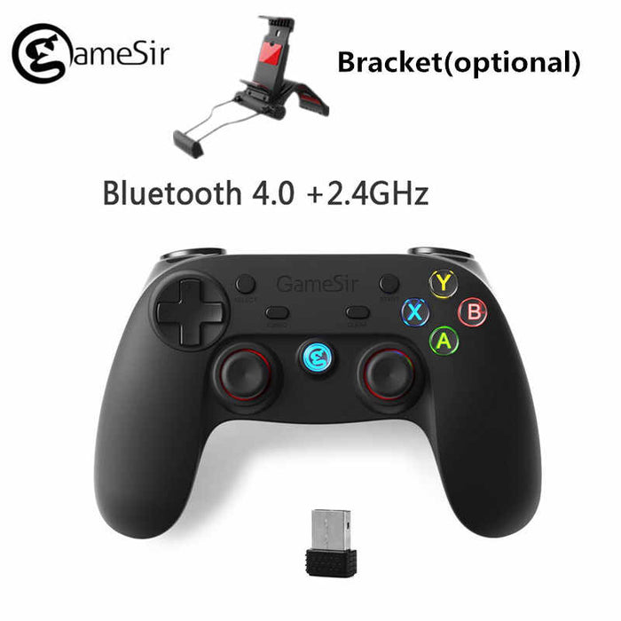 GameSir - G3S Wireless Controller for PC/PS3/Android (Not compatible with iOS - Black