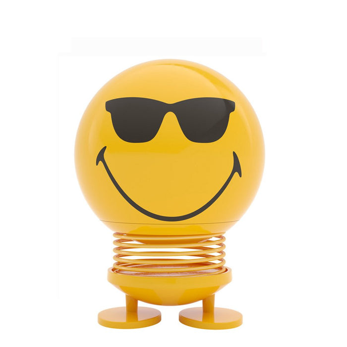 Hoptimist   - Small Smiley Cool 8cm - Yellow