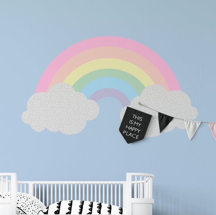 "Paper11   - Wall Decal ""Happy Place"""