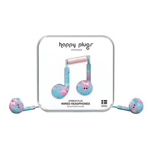 Happy Plugs, Earbud Plus, Botanica Exotica