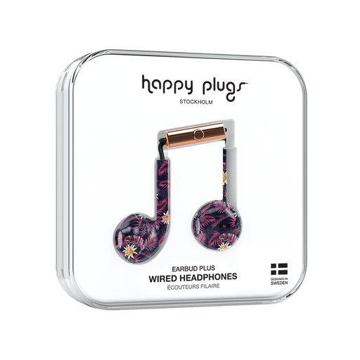 Happy Plugs, Earbud Plus, Hawaiian Nights