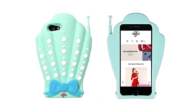 Valfre - iPhone 8/7 3D Handmade Silicone Case - Shellphone