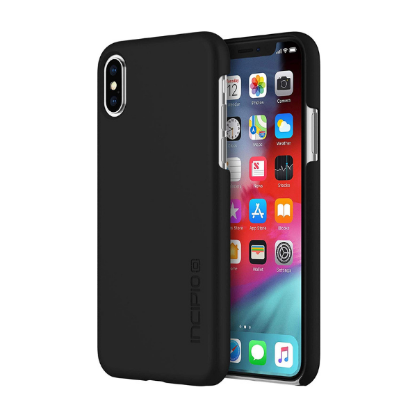 Incipio - iPhone X/XS  Feather Case - Black