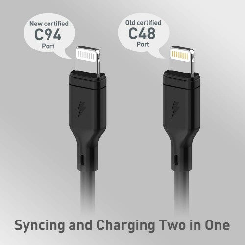 Momax - Zero Lightning Cable 1m - Black