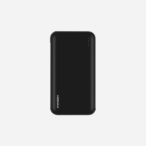 Momax, IPower Minimal 5 , External Battery Pack 10000mAh With built-in cable: Type-C & Lightning, Black
