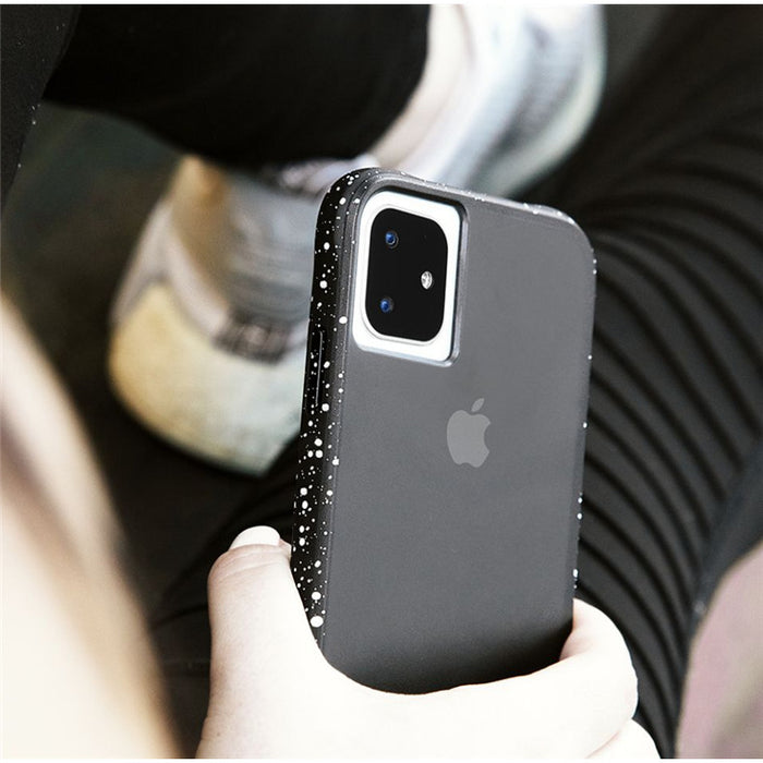 Case-Mate - iPhone 11 Pro Case - Tough Speckled - Black