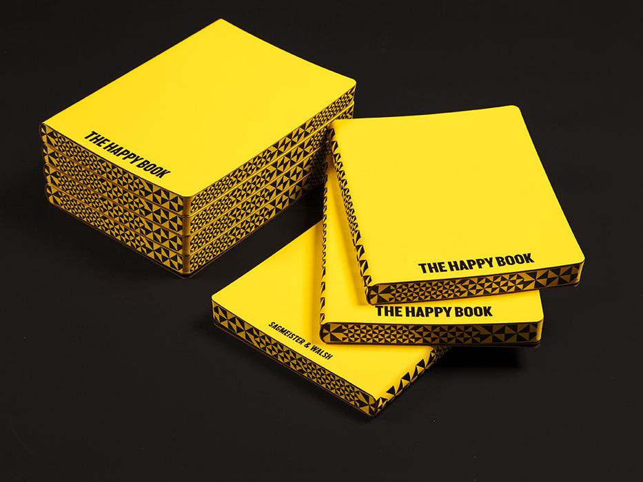 Nuuna Graphic Fame L The Happy Book, Yellow