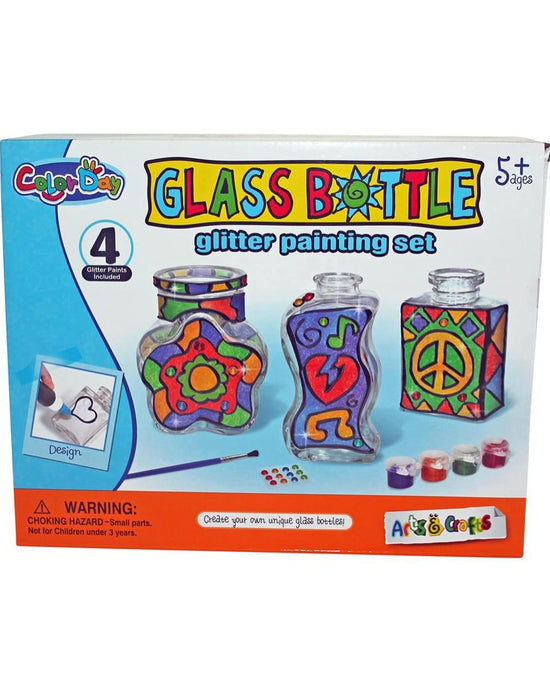 DIY   - Glass Bottle Painting Kit