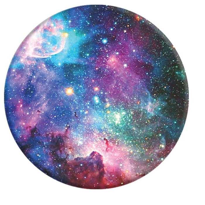 PopSockets - Phone Grip Single Nebula - Blue