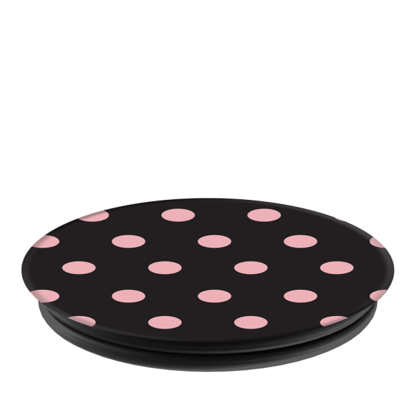 PopSockets   - Phone Grip Single Polka Darkly