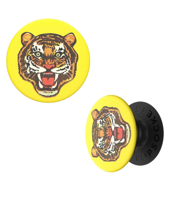PopSockets - Phone Grip Single Tiger Bites Active