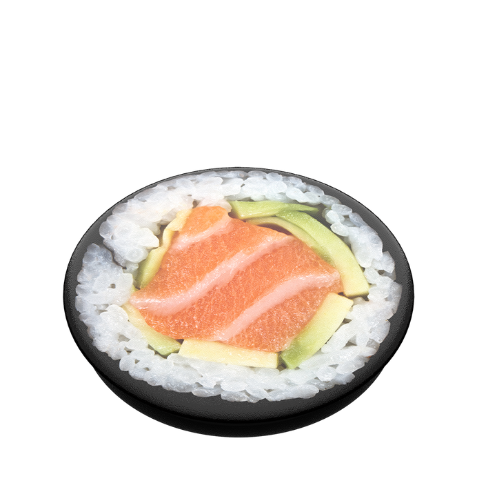 PopSockets - Phone Grip Swappable Salmon Roll