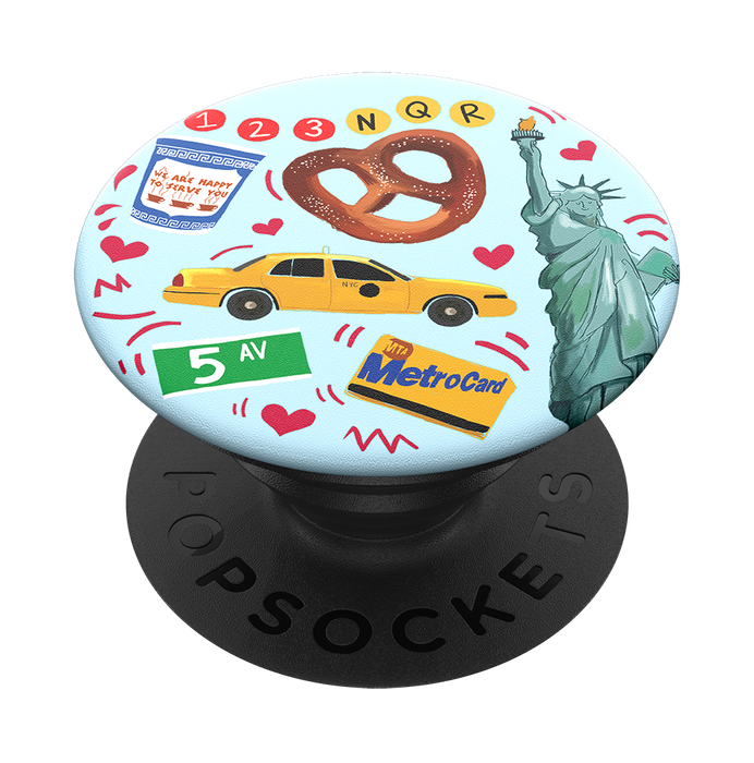 PopSockets - Phone Grip Swappable New York