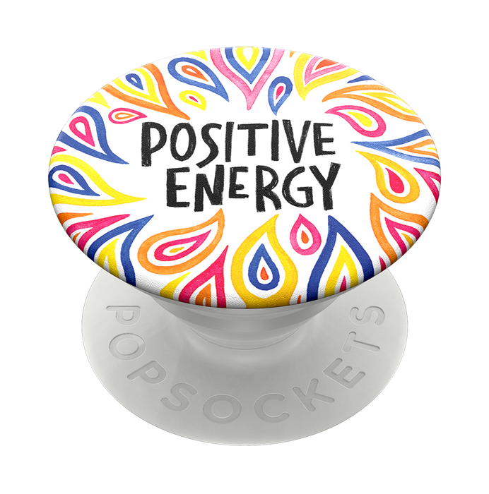 PopSockets - Phone Grip Swappable Positive Energy