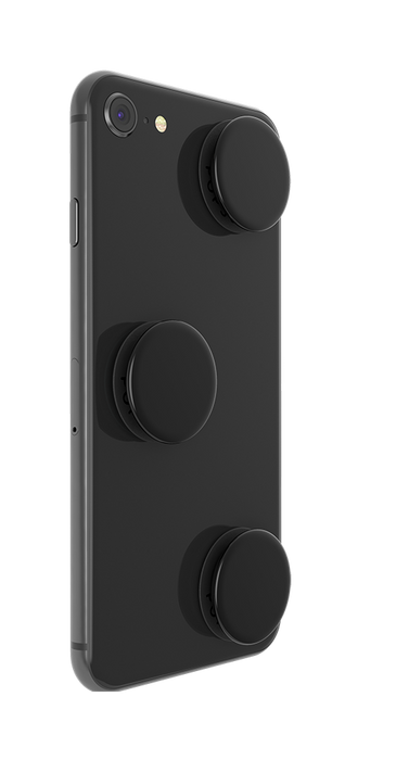 PopSockets - Phone Grip PopMinis Triple Black