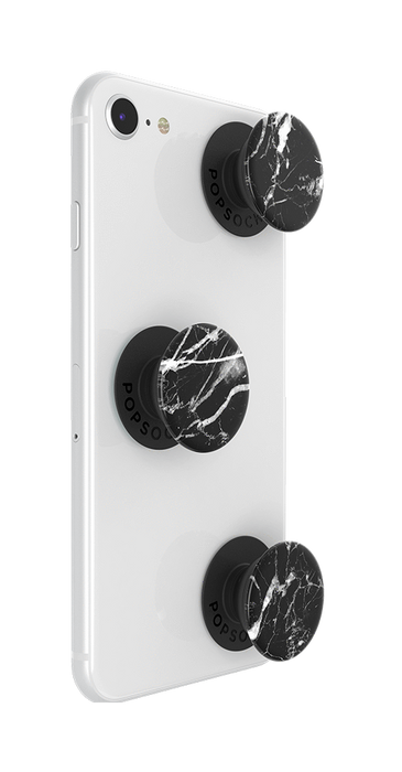 PopSockets - Phone Grip PopMinis Marble Black