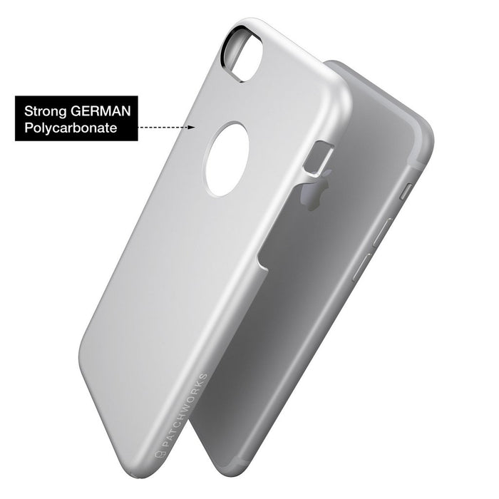 Patchworks Pureskin for iPhone 7/8, Silver (2037387952185)