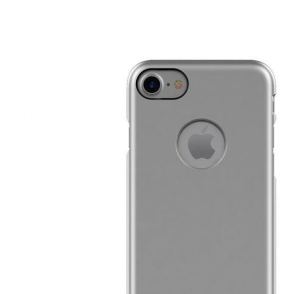 Patchworks - iPhone 8/7 Pureskin Case - Silver