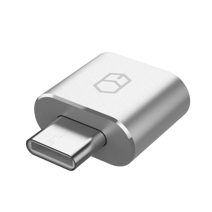 Patchworks - USB-A to USB-C Adapter - Grey