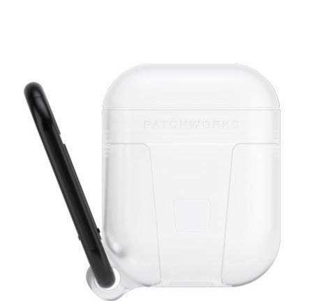 Patchworks -AirPods Pure Pocket All weather Protection Case - White