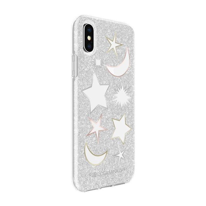 Rebecca Minkoff - iPhone X/XS Double Protection Case - Silver Glitter