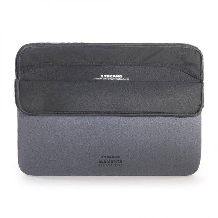 "Tucano - Second Skin New Elements Sleeve for MacBook Pro 15"" - Space Grey"