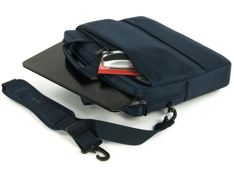 "Tucano Dritta Slim 15 bag for MacBook Pro 17"" and notebook 15.6"", Blue"