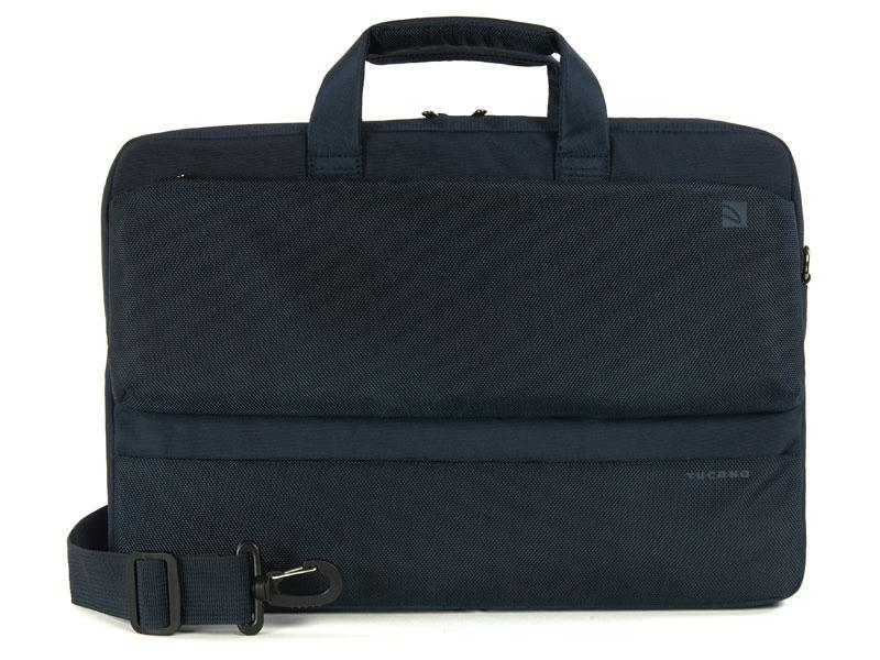 "Tucano   - Dritta Slim Bag for 17"" MacBook Pro & Notebook 15.6"" - Blue"