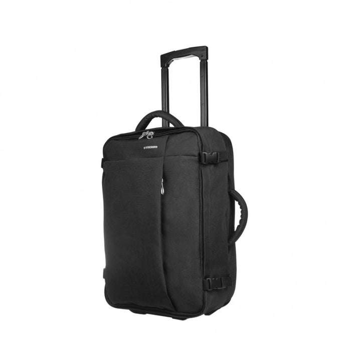 Tucano - Tugo Trolley Cabin Durable and water repellent Double handle - Small - Black