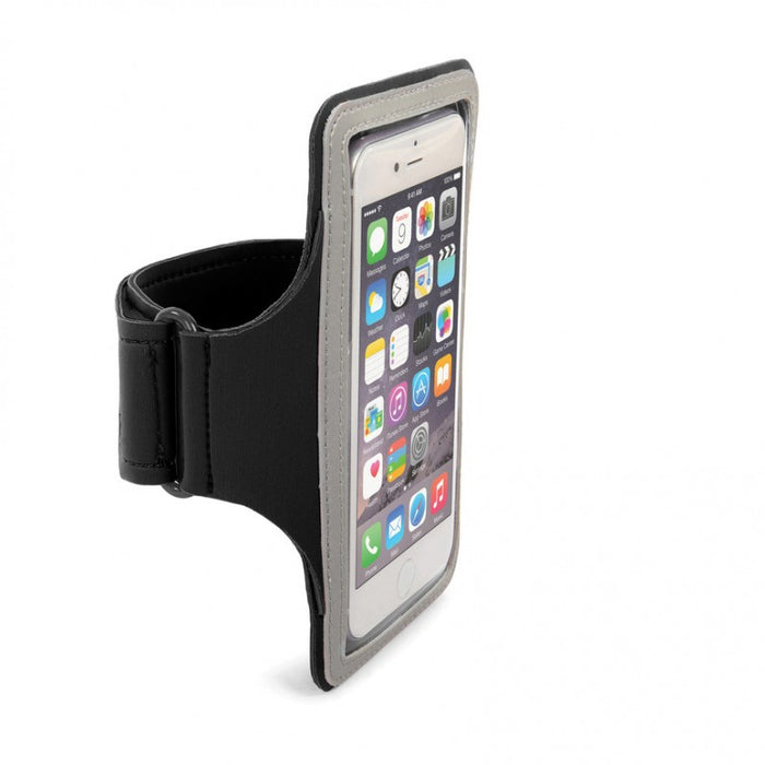 "Tucano Neo Sport Wristband,Armband For Smartphone Up To 5"", Black"