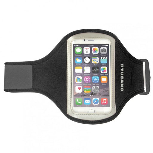 "Tucano Sport Wristband for smartphone up to 5"", Black"