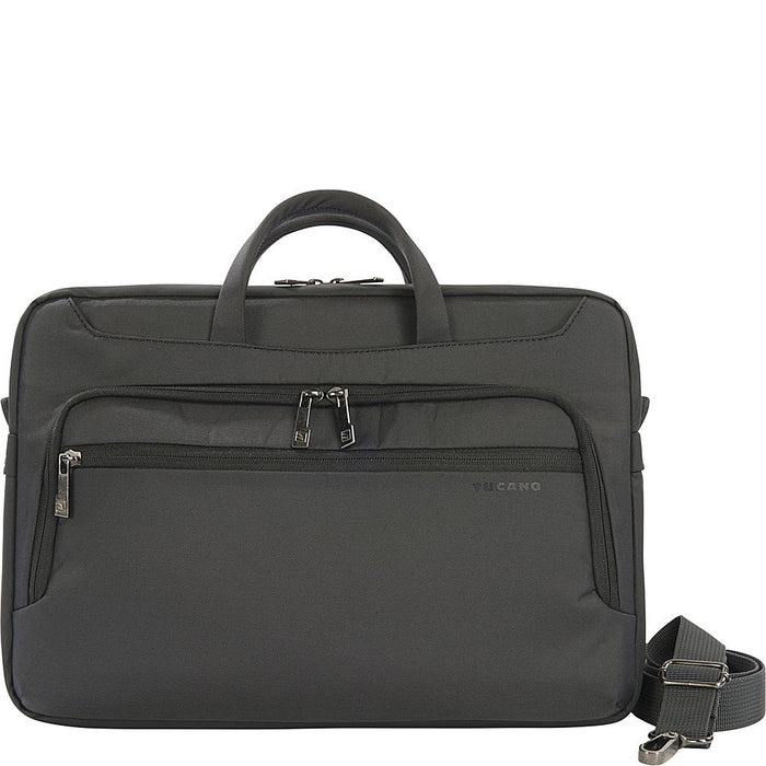 "Tucano Black Workout 2 Compact Bag For Macbook 15"" And NoteBook 15"", Black"
