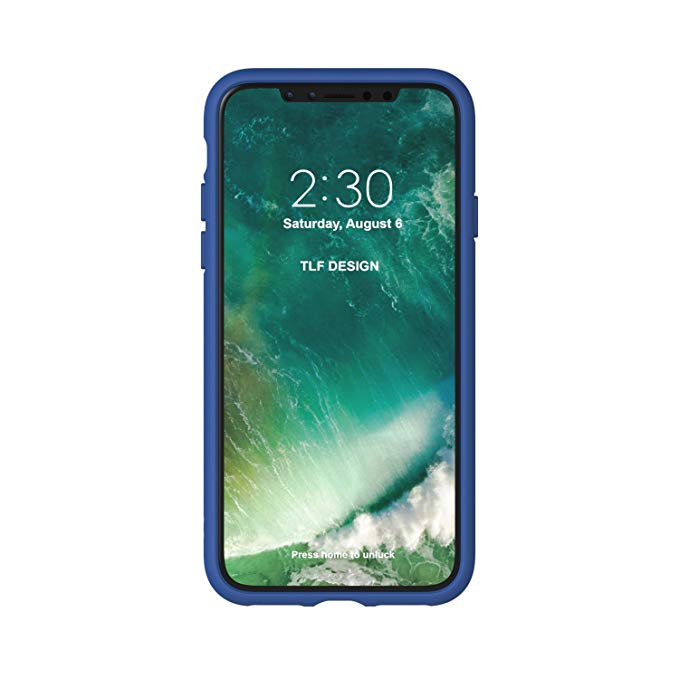 Adidas, iPhone X&XS Original Molded case, collegiate Royal&White
