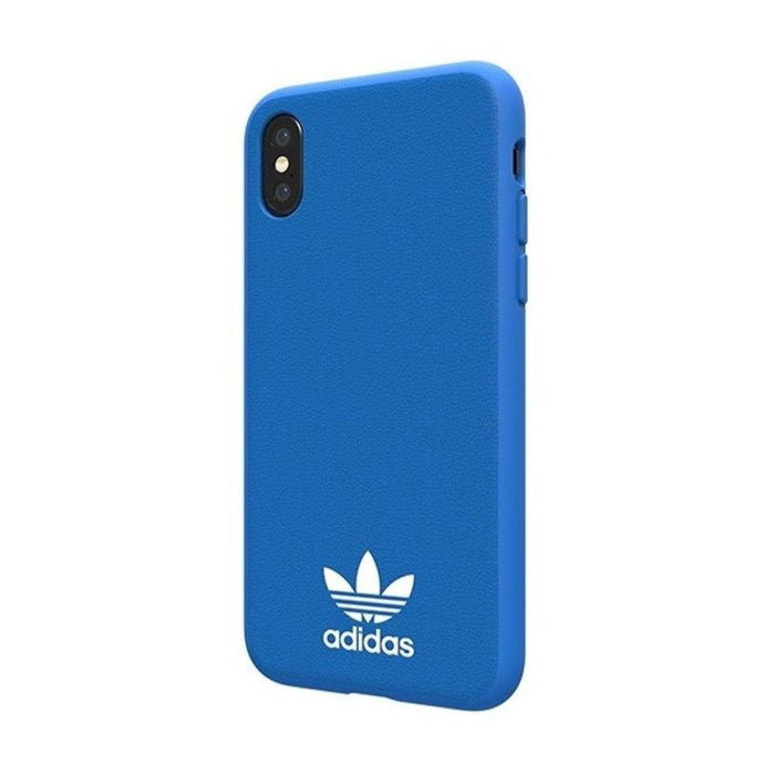 Adidas, iPhone X&XS Original Molded Case, Bluebird&White