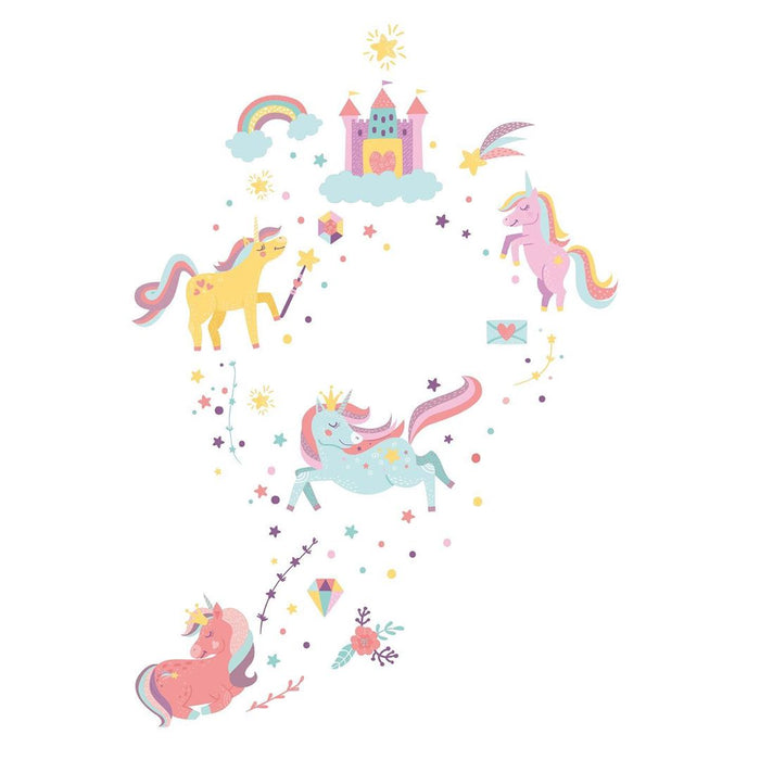 "Paper11   - Wall Decal ""Unicorn Dream"" - Large"