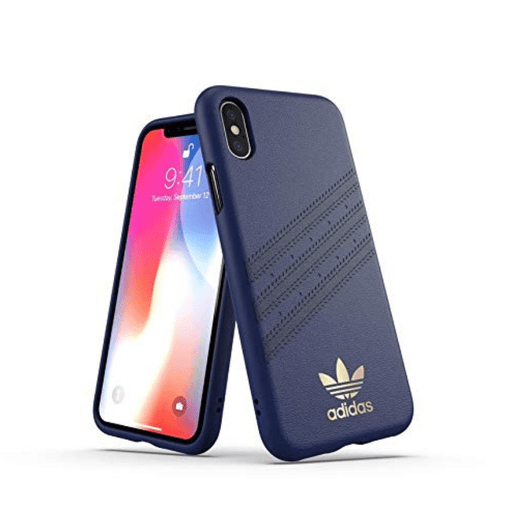 Adidas, iPhone X&XS Max, 3 Stripes case, Samba Blue